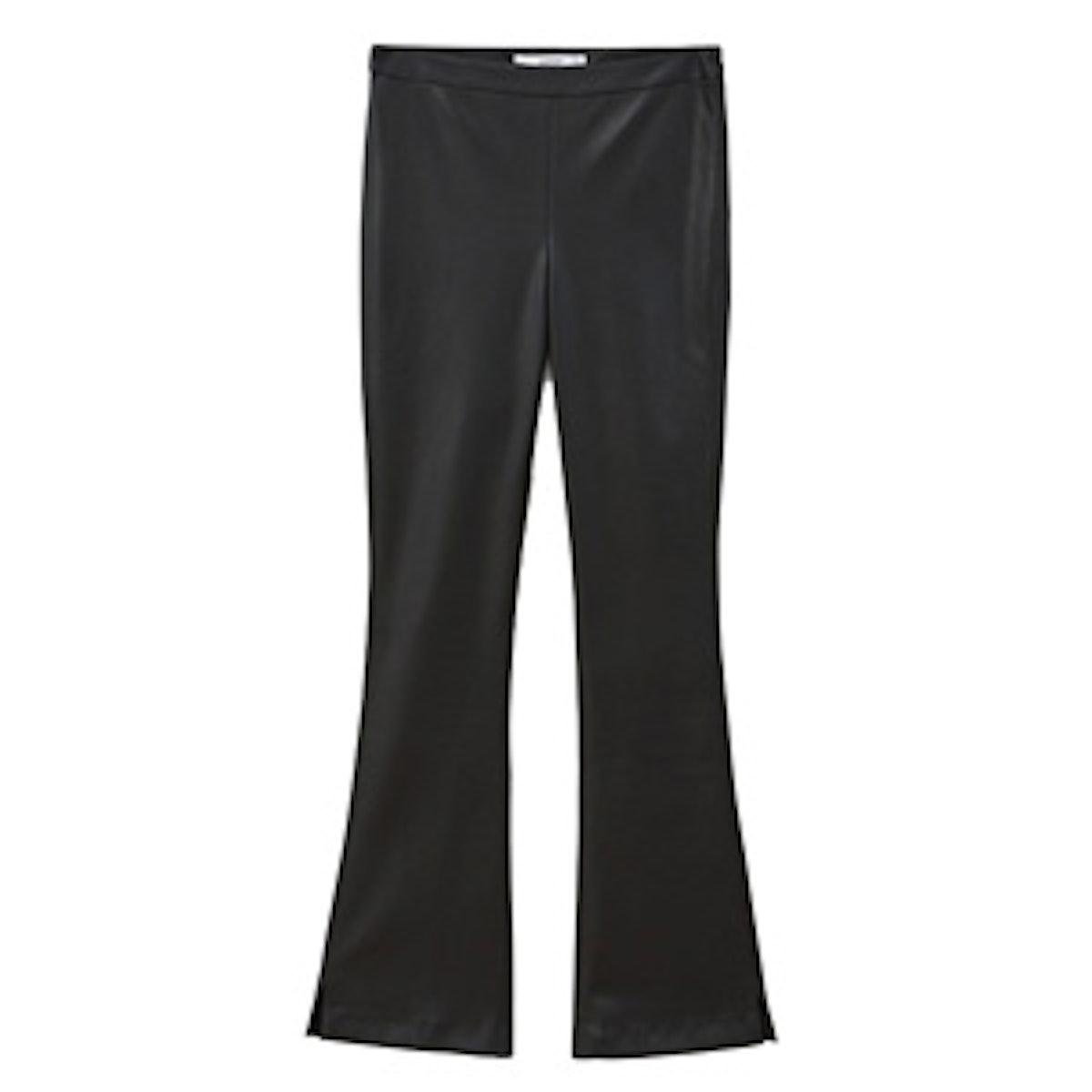 Faux-Leather Pants