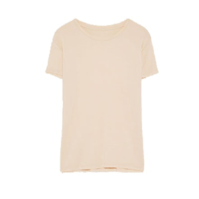 Basic T-Shirt In Nude Pink