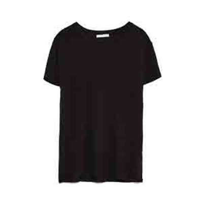 Basic T-Shirt In Black