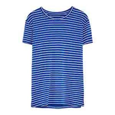 Basic T-Shirt In Blues