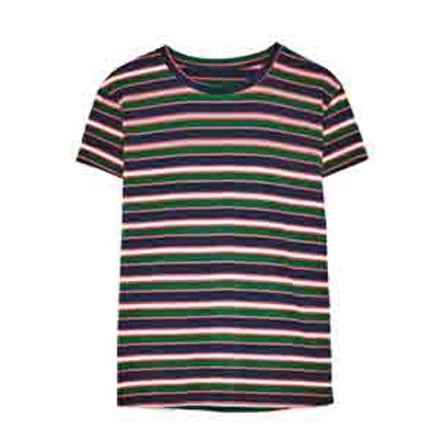 Basic T-Shirt In Stripes