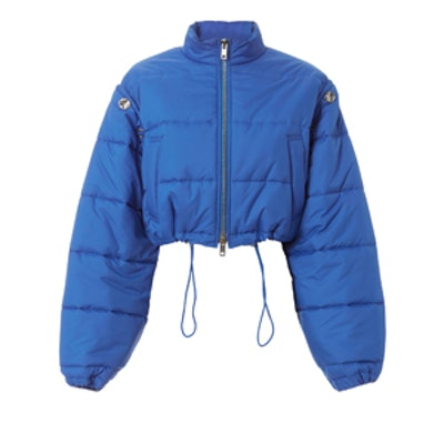 Blue Puffer Ski Coat