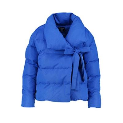Imogen Padded Tie Front Coat