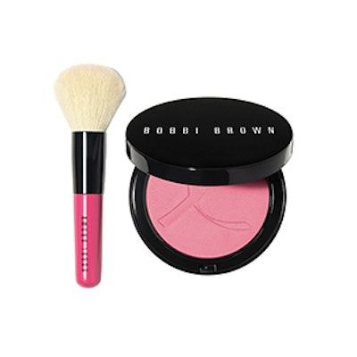 Pink Peony Illuminating Bronzing Powder Gift Set