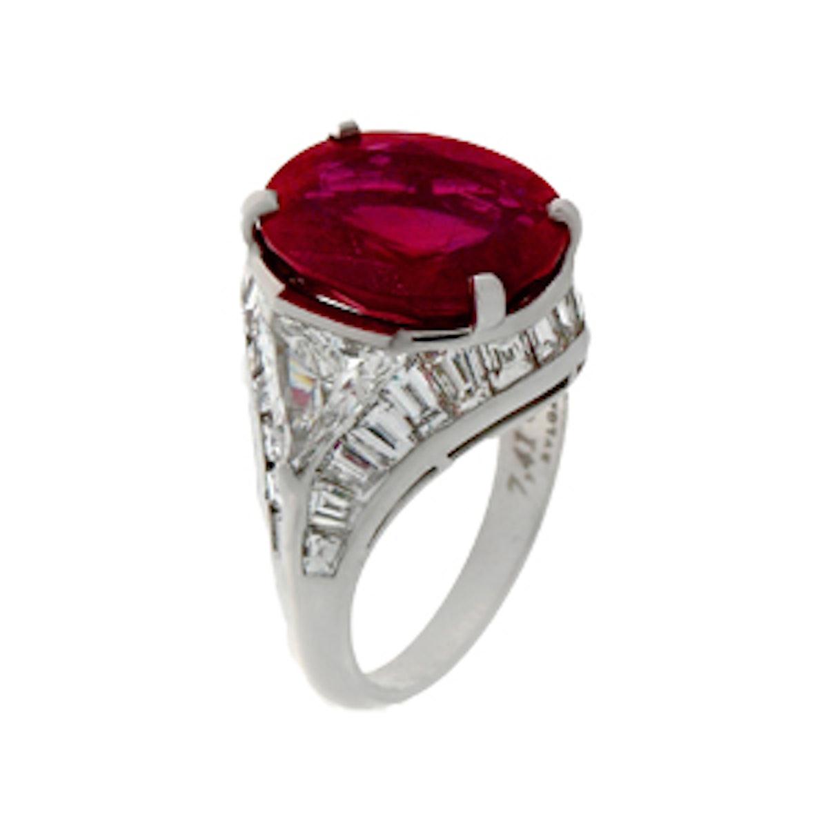Le Magnifiche Creazioni Ruby Ring