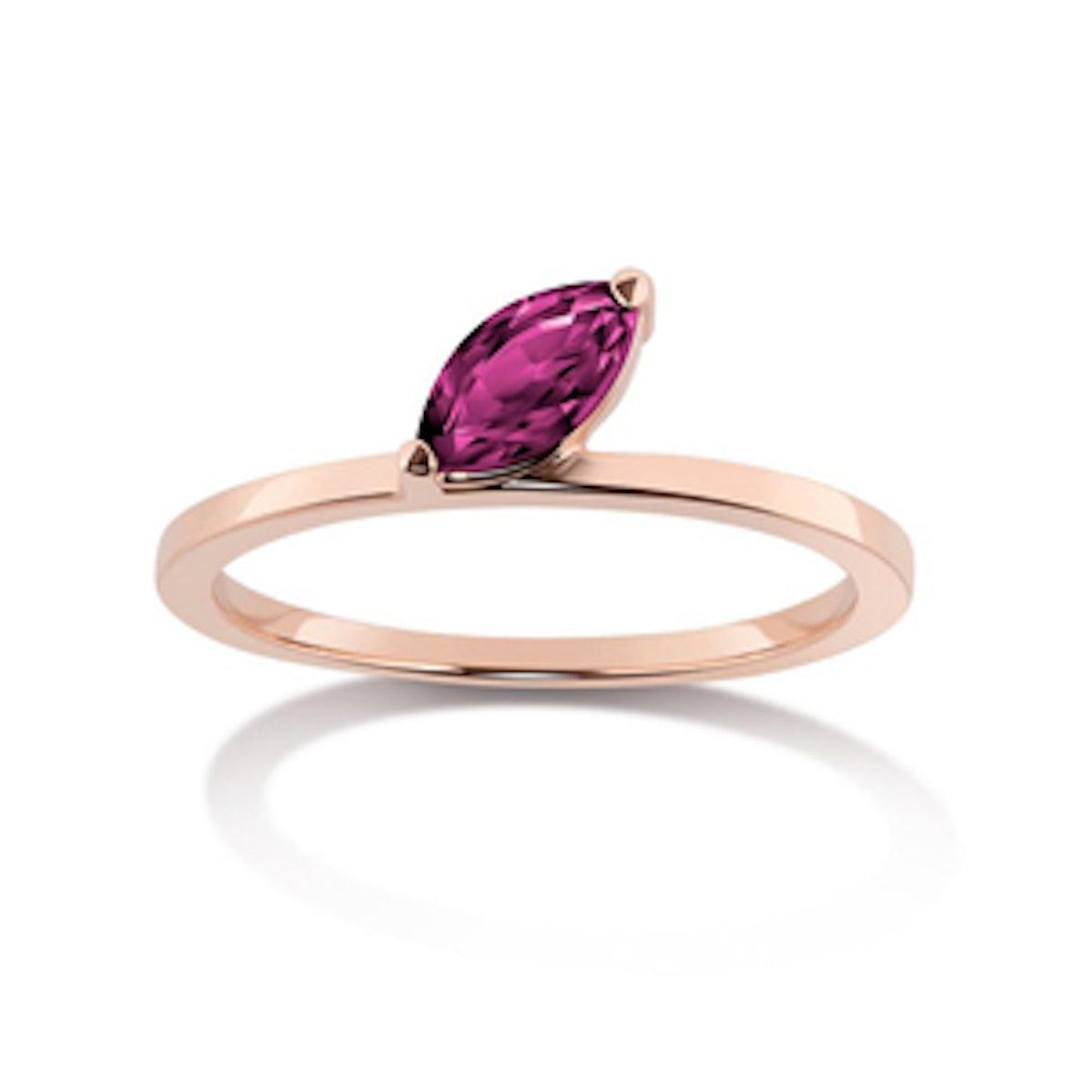 Defne Ruby Ring