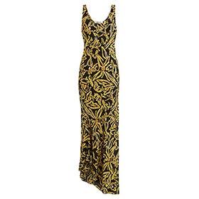 Elsden-Print Scoop-Neck Silk-Crepe Dress