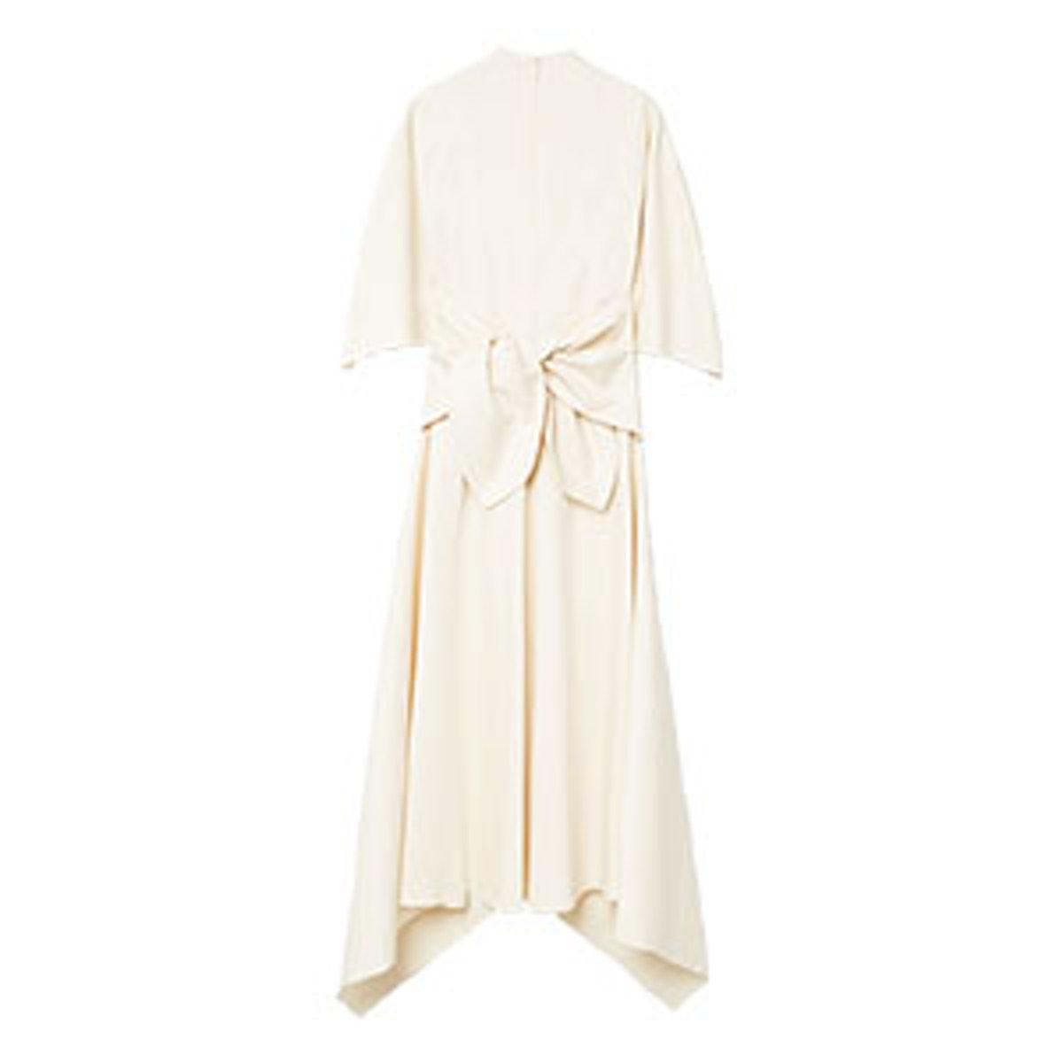 Asymmetric Bow Dress