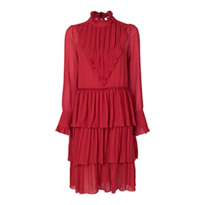 Micro Knife Pleated Dress