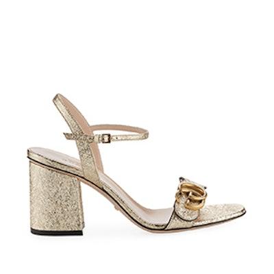 Marmont Metallic City Sandal