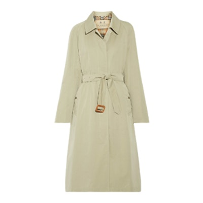 Brighton Cotton-Gabardine Trench Coat