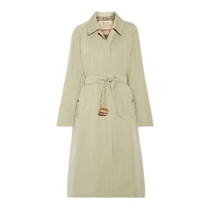 Brighton Cotton-Gabardine Trench Coat
