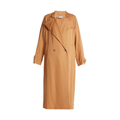 Shameless Oversized Double-Breasted Trench Coat