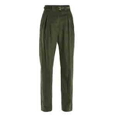 Joan High-Rise Corduroy Trousers
