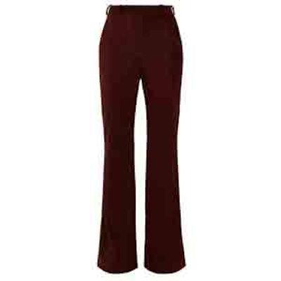 Tessel Wide-Leg Corduroy Trousers