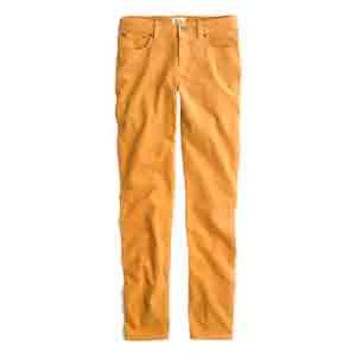 8″ Toothpick Corduroy Pant