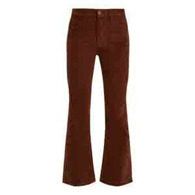 Marty Mid-Rise Kick-Flare Corduroy Trousers