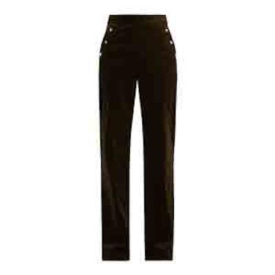 Hadrian Wide-Leg Stretch-Cotton Corduroy Trousers