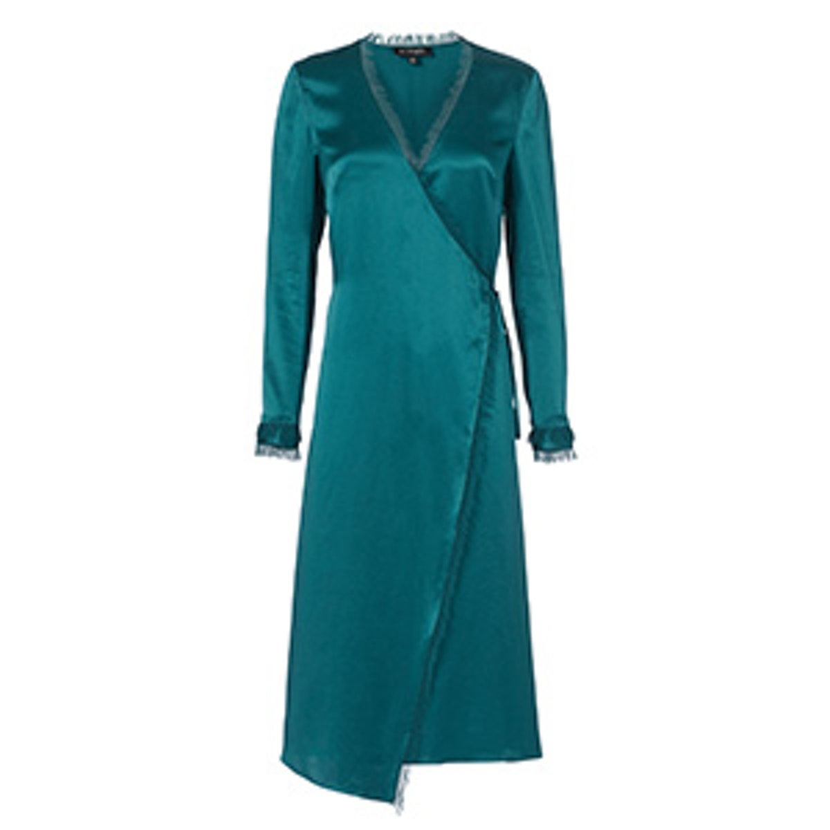 Charlie Wrap Front Maxi Dress