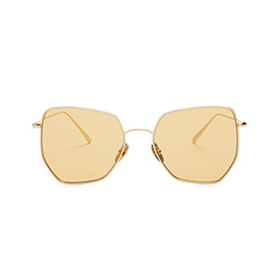 Boggs Geometric-Frame Sunglasses