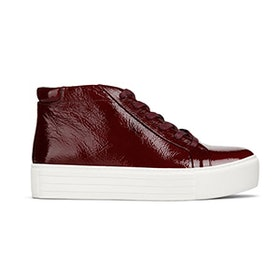 Janette High-Top Patent Platform Sneaker
