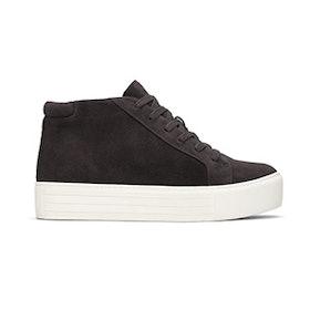 Janette High-Top Suede Platform Sneaker