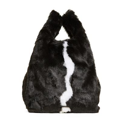 Michelle Faux Fur Shopping Bag