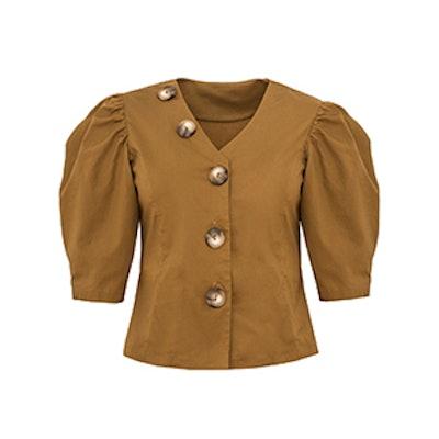 Tartine Button Puffy Sleeve Shirt