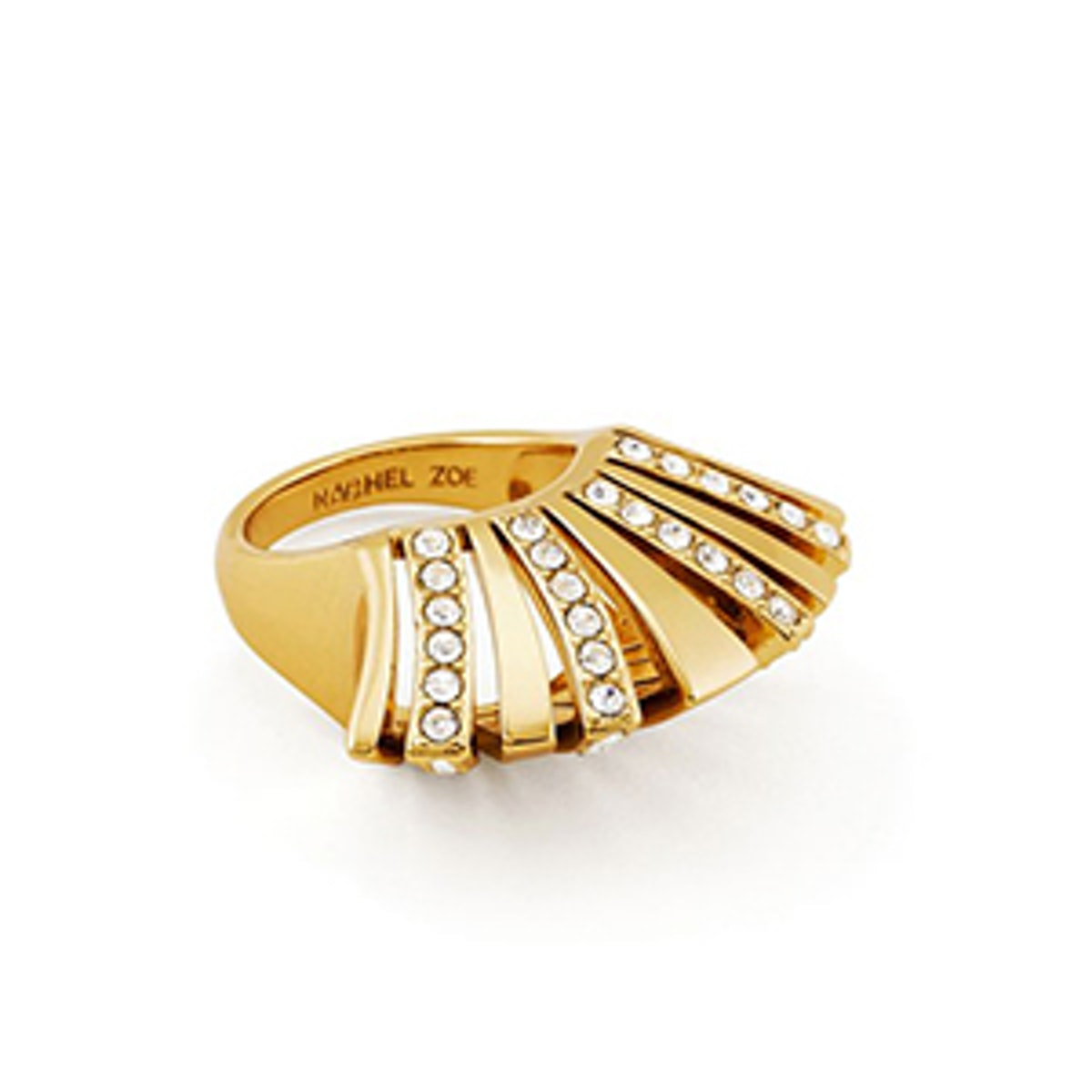 Noelle Crystal Pave Statement Ring