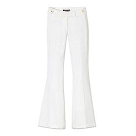 Phoebe Twill Flare Pants