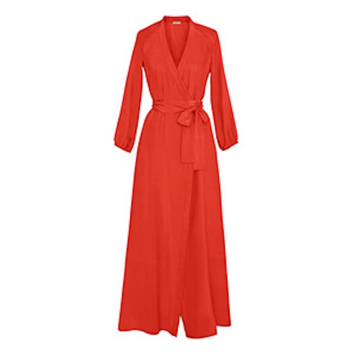 Jagger Silk Wrap Dress