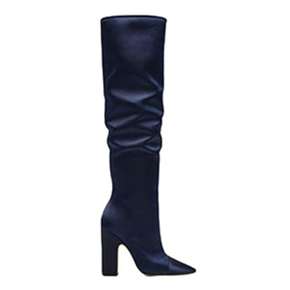 Sateen High Heel Boots Details