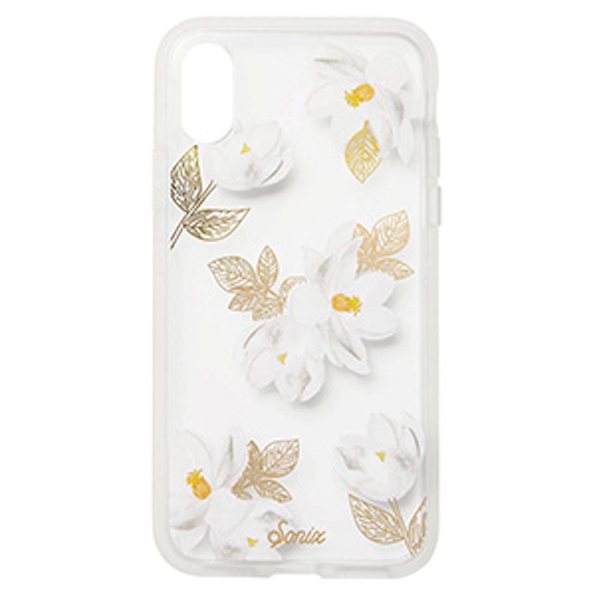 Oleander Print iPhone X Case
