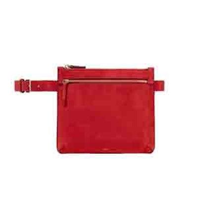 Suede Belt Bag