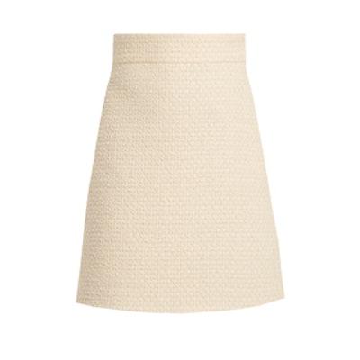 A-Line Tweed Skirt