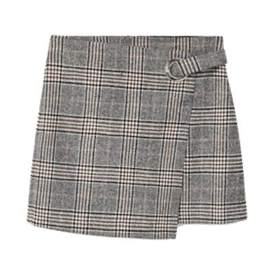 Wool Boots Skirt