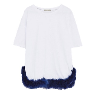 T-Shirt With Feathers