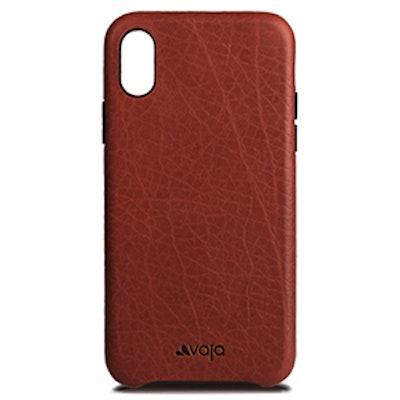Slim Grip Iphone X Leather Case – Bridge Chili and London