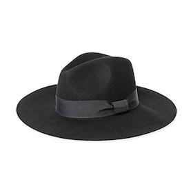 Wool Wide Brim Fedora Hat