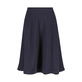 Wool-Blended Jersey Volume Skirt