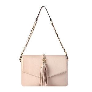 Tess Tassel Demi Shoulder Bag
