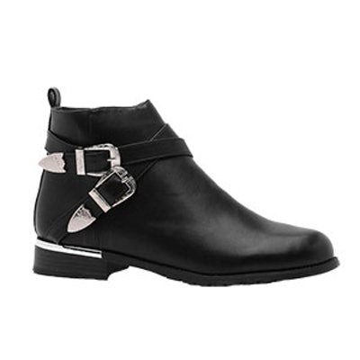 Ava Buckle Strap Chelsea Boot