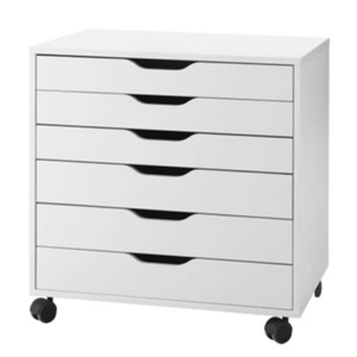 Alex Drawer Unit On Casters