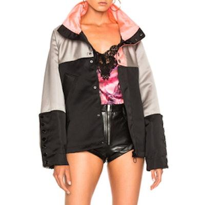 Oversized Windbreaker Jacket