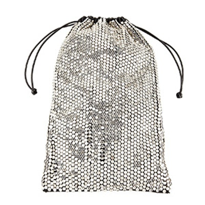 Ryan Sequined Leather Dust Bag