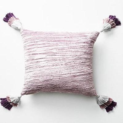 Tassled Velvet Pillow