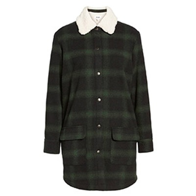 Bradley Fleece Lined Plaid Coat