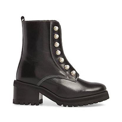 Granite Embellished Zip Boot