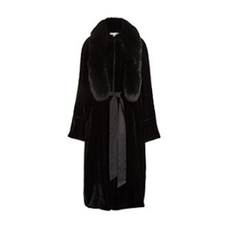 Mitzie Velvet Coat