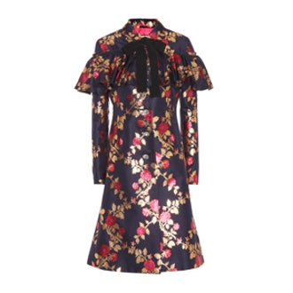 Silk-Brocade Coat